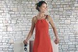 Dress Palma Orange