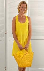 Dress Aurora geel